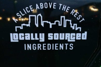 Locally sourced ingredients