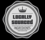 We use locally sourced ingredients